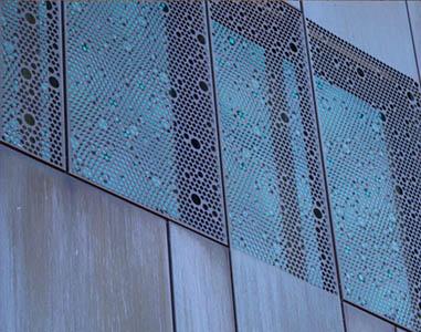 LIMO-MONT, Metalne fasade