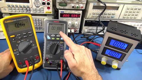 ELECTRA M & V, Električna merenja