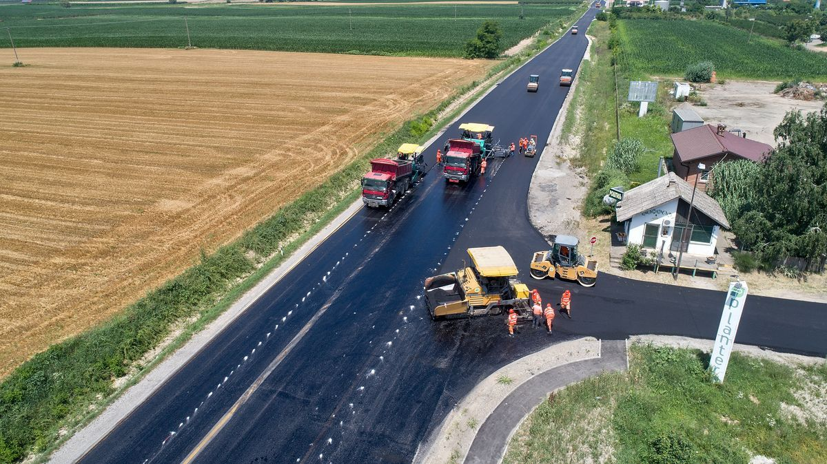 Izgradnja puta Ruma - Irig