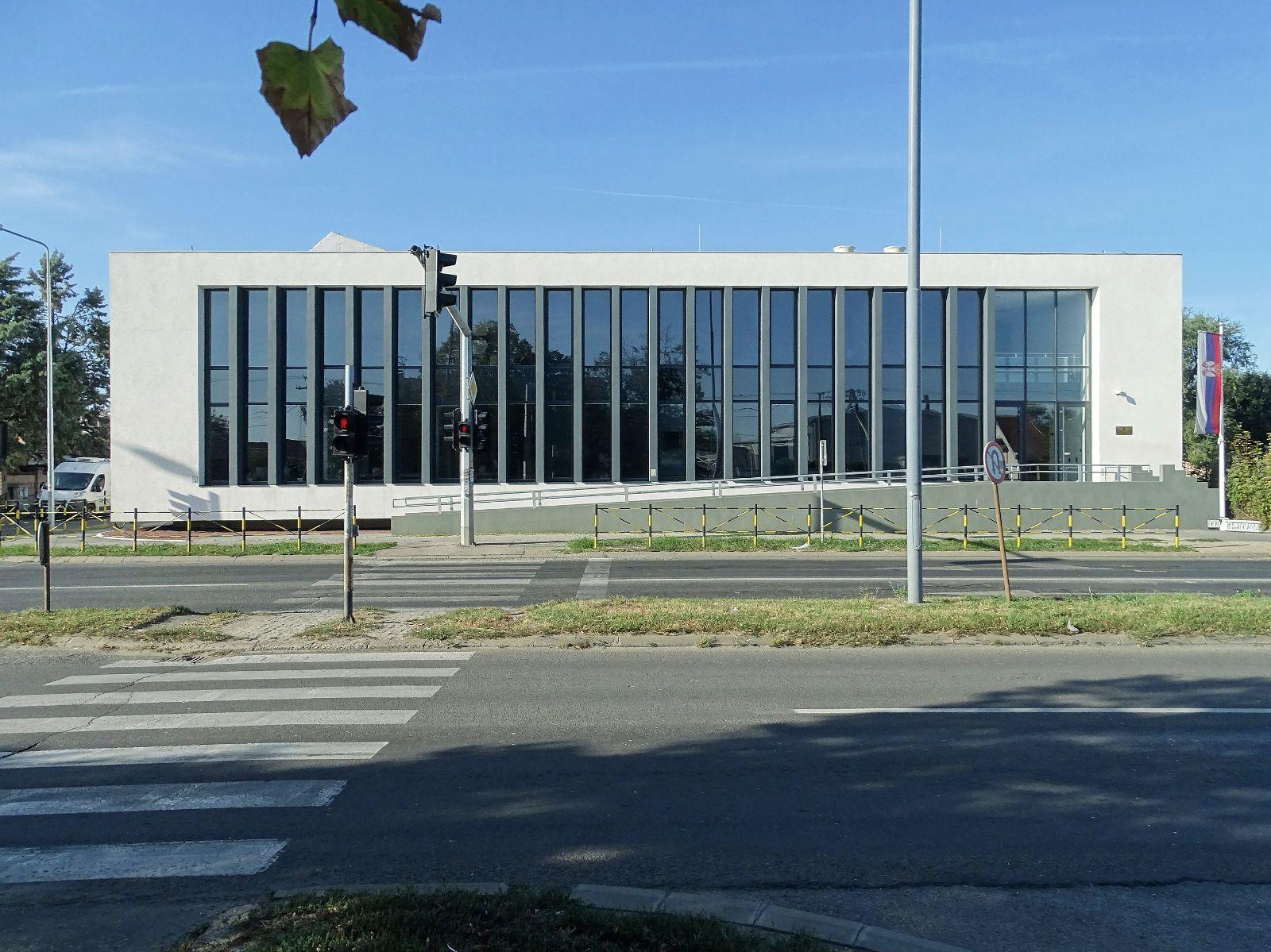EEP: etika, estetika i politika: zgrada Prekršajnog suda u Pančevu